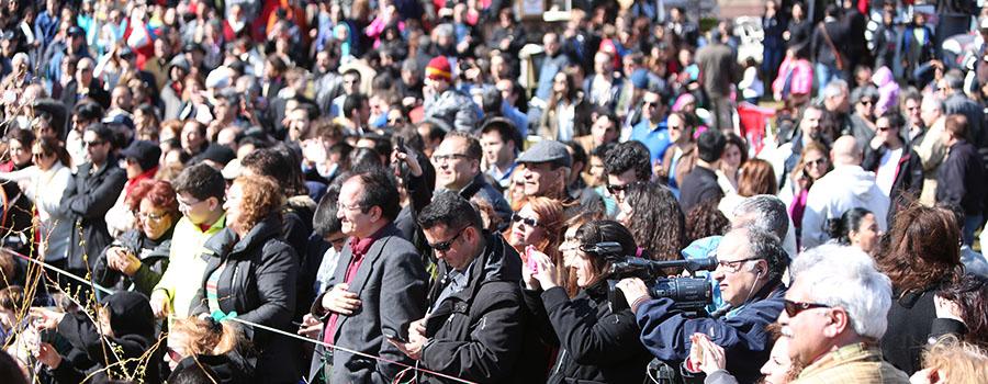 Nowruz Festival Crowds