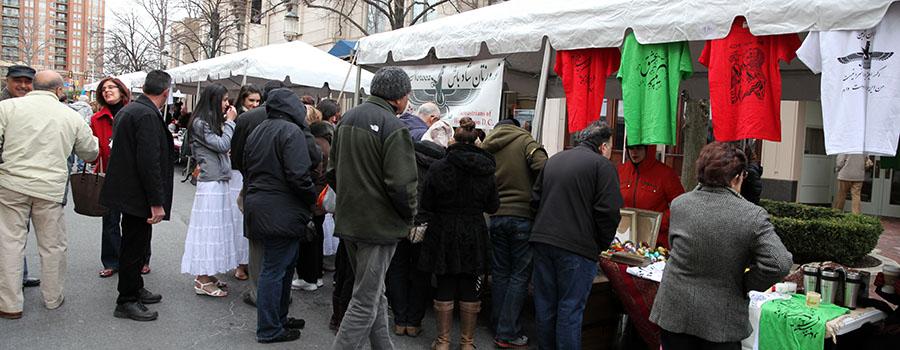 Nowruz Festival Vendors