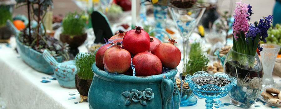 Nowruz Haft Seen Table
